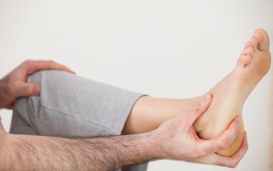 Hand Grabbing Heel
