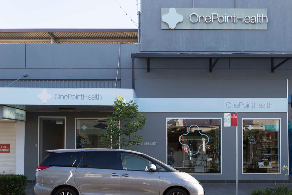 OnePointHealth Penrith - Storefront