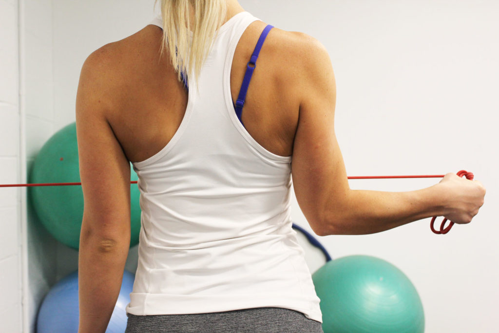 shoulder muscle activation and strengthening
