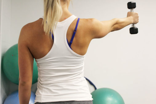 shoulder range of movement exercises and muscle activation
