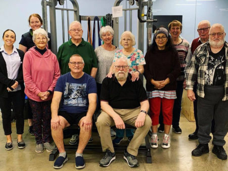 Falls prevention program at onepointhealth
